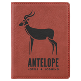 Leatherette Passport Holder