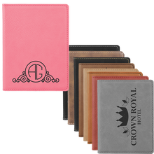 Load image into Gallery viewer, Leatherette Passport Holder