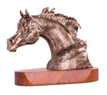 Load image into Gallery viewer, Horse Head Statue Series - Arabian Horse