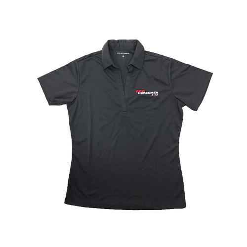 Pro Horseman Ladies Steel Grey Polo