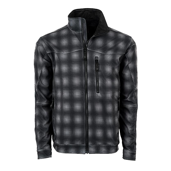 2019 Youth world show Black Plaid Perf Vest