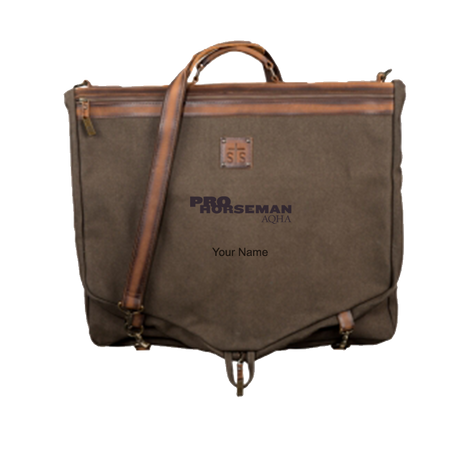 Pro Horseman Brown Leather Briefcase