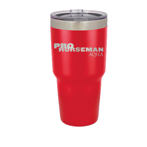 Pro Horseman 30 oz Vacuum Insulated Tumbler with Lid