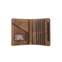 Load image into Gallery viewer, Magnetic Wallet (Brown)