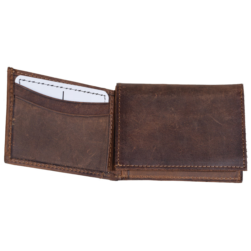 Foreman's Leather Tri fold wallet