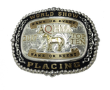 Exclusive Top Five or Top Ten Youth World Show Buckle