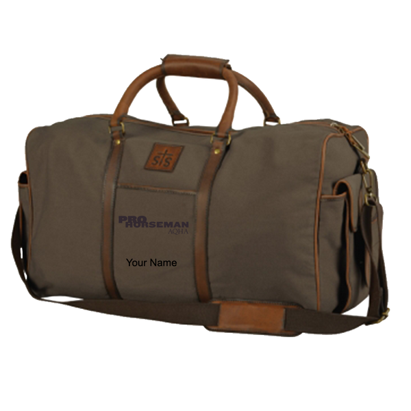 Pro Horseman Canvas Travel Bag