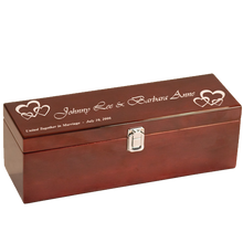 Load image into Gallery viewer, Single Rosewood Piano Finish Box w/ Tools