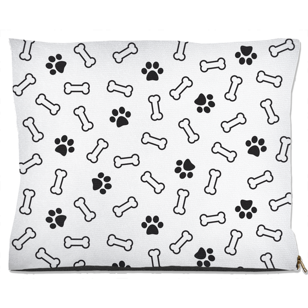 Bone and Paw Dog Bed