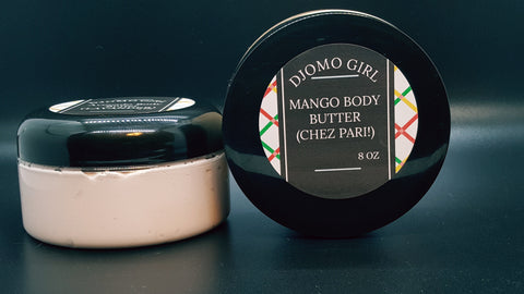 Chez Pari!  Mango Body Butter