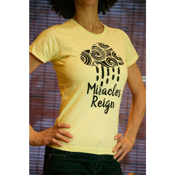 Miracles Reign - Women's Organic Cotton T-shirt - Teeminder