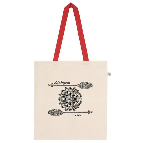 Mandala Shopper Tote Bag