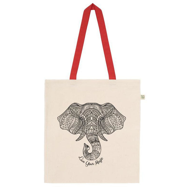 Elephant Shopper Tote Bag