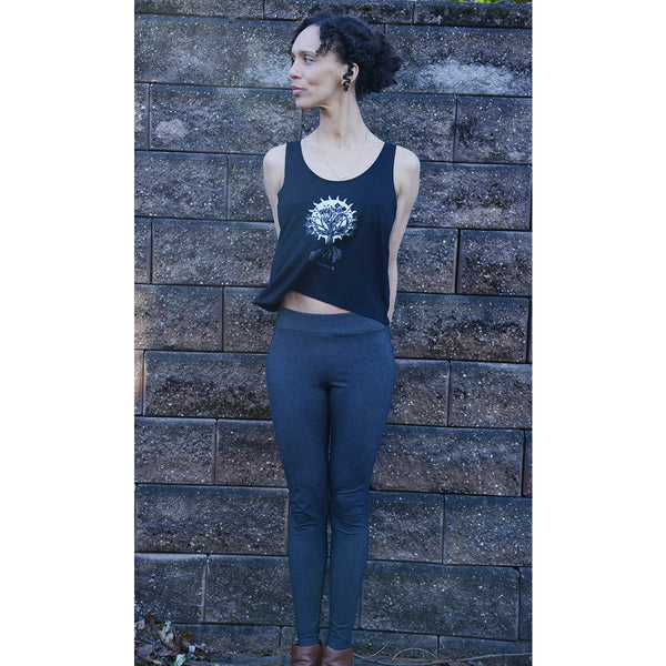 OM Tree of Life - Rooted in Gratitude - Women's Flared TankTop