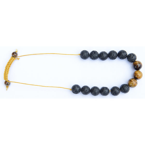 Tiger Eye Buddha Bracelet (10mm) - Teeminder