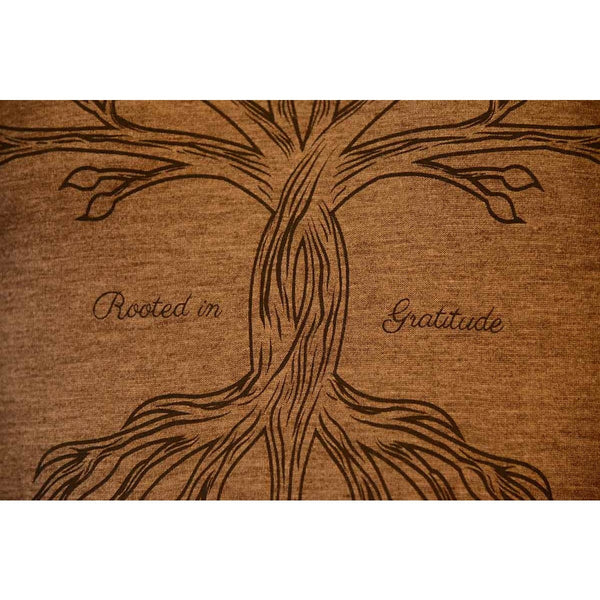 Rooted in Gratitude - Men's Organic Cotton/Bamboo Blend T-shirt - Teeminder
