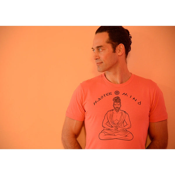 Master Mind - Men's 100% Organic Cotton T-shirt - Teeminder