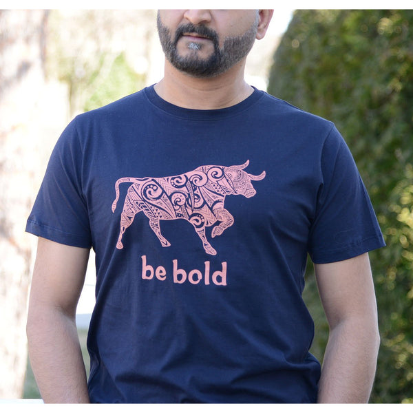 Be Bold - Men's 100% Combed Organic Cotton T-shirt