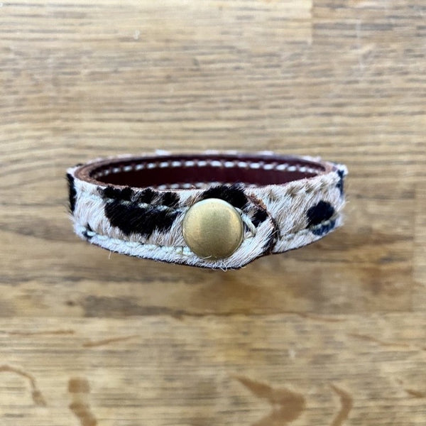 Leather Bangle - Limited Edition