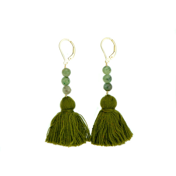 Tassel Earrings - Gold