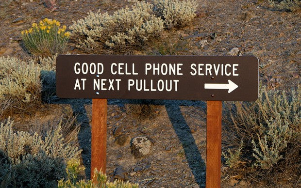 Cell Towers In Wild Places And National Parks