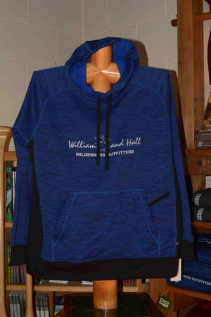 Heavy Sweatshirt featuring Williams and Hall Outfitters logo