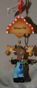 Williams and Hall Outfitters Christmas Tree Ornaments