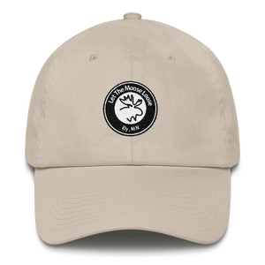 Cotton Cap - Moose Logo on front. Fish On. Be Free. on back