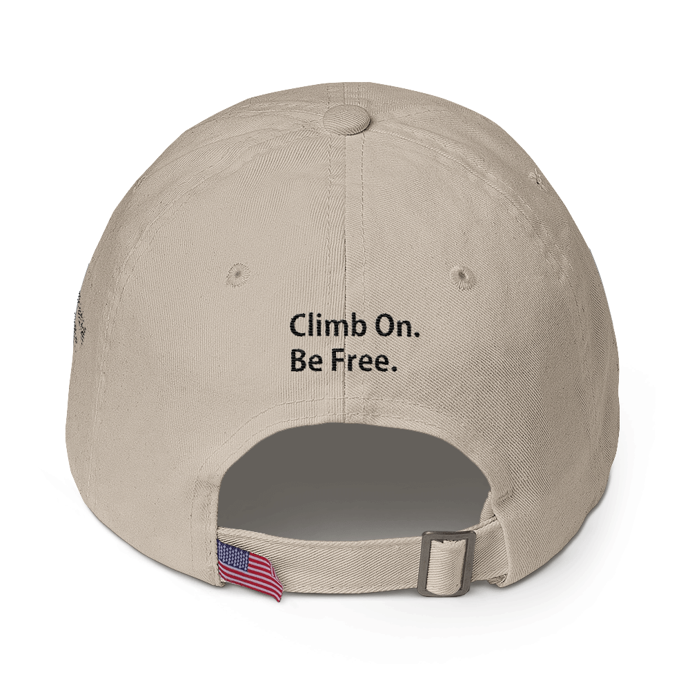Cotton Cap - Williams and Hall Outfitters Edition - Climb On. Be Free.