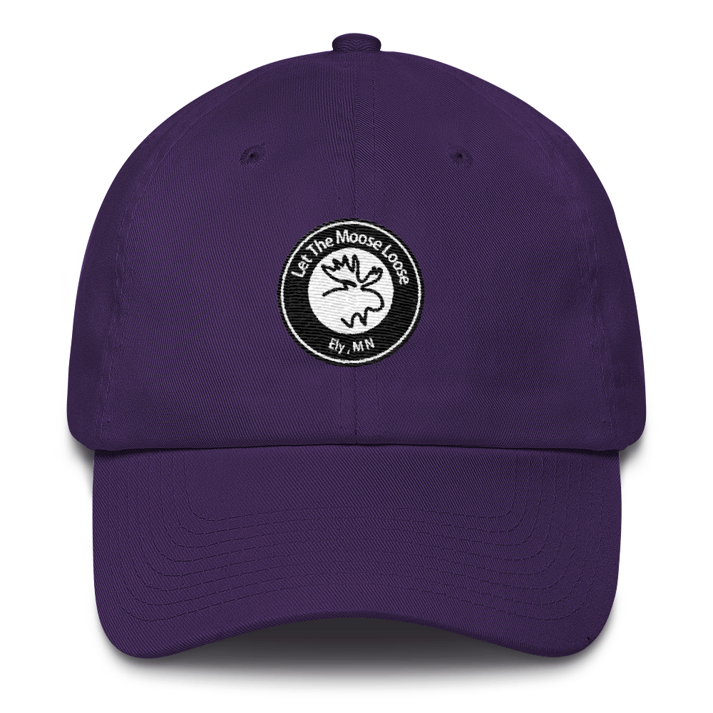 Cotton Cap - Moose Logo on front.  Fish On. Be Free. on back.