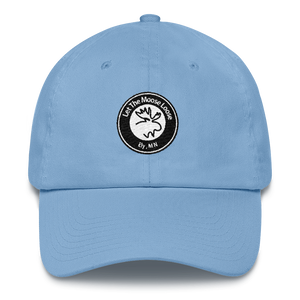 Cotton Cap - Moose Logo on front. Adventure On. Be Free. on back