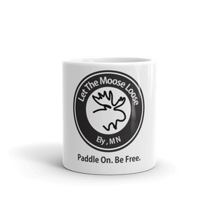Paddle On. Be Free. Mug made in the USA