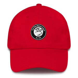 Cotton Cap - Moose Logo on front. Paddle On. Be Free. on back.