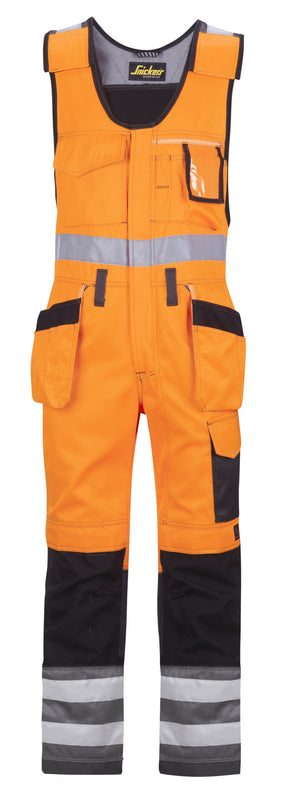 Snickers 0213 Bodybroek met holsterzakken High Visibility - Class 2