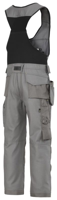 Snickers 0214 Bodybroek met holsterpockets - Canvas+ - Donker Grijs