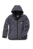 Carhartt Crowly Hooded Jacket Charcoal