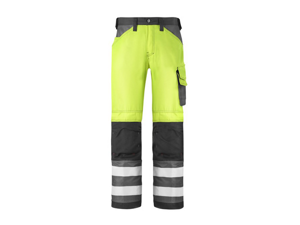Snickers 3333 Broek High Visibility - Klasse 2