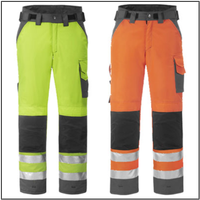 Snickers 3639 Winterbroek High Visibility - klasse 2