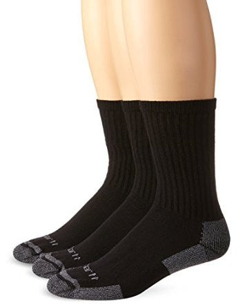Carhartt All Season Cotton Crew Work Sock (3 pack)