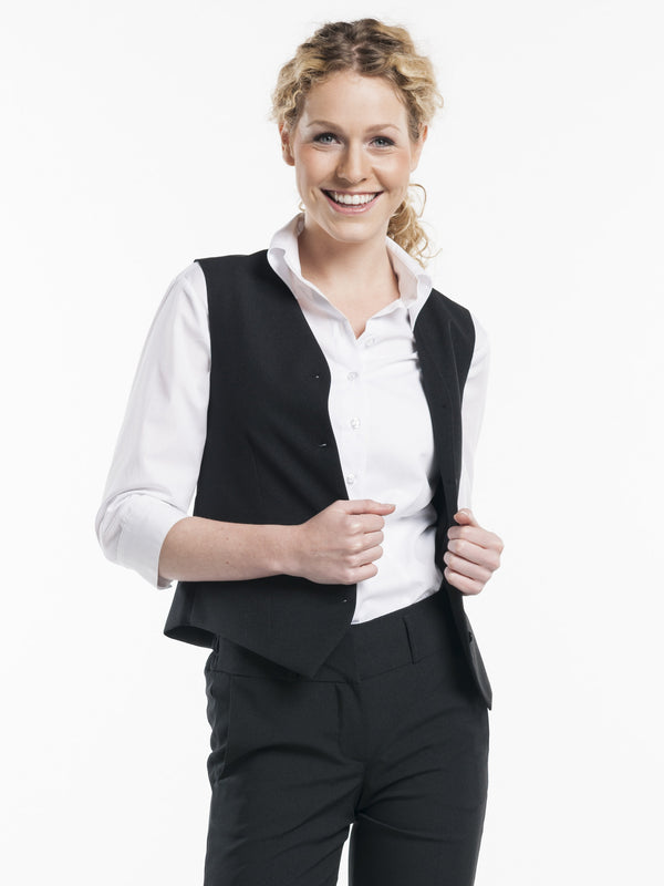 Chaud Devant Women Black Gilet 601