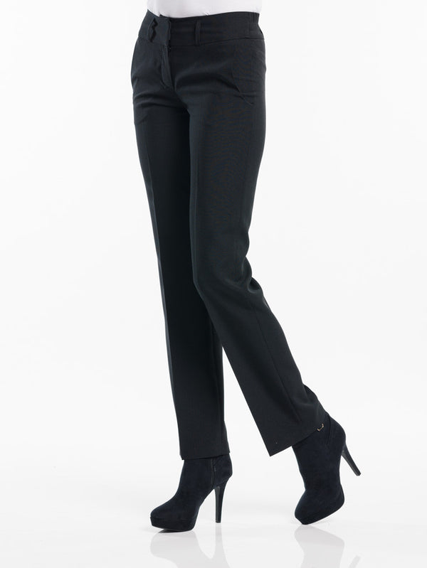Chaud Devant Women Black Broek 623