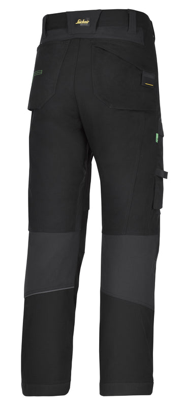 Snickers 6903 FlexiWork werkbroek+ - Black