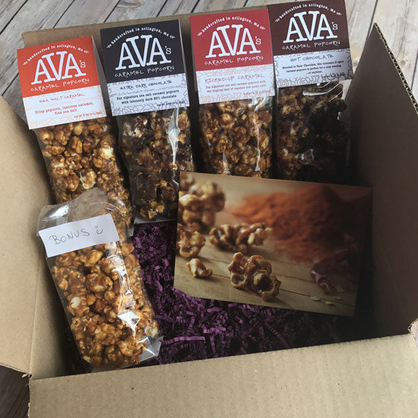 Caramel Popcorn Gift Subscription Box