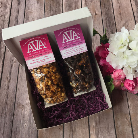 Ava's Valentine's Day Sharing the Love Popcorn Gift Box