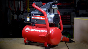 The Powerbuilt 3 Gallon Portable Air Compressor