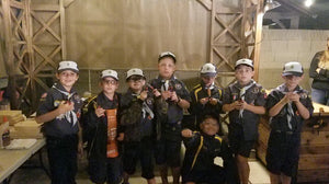 Building Skills With Cub Scouts