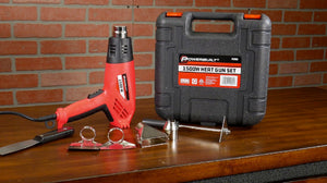 The Powerbuilt 1500 Watt Heavy Duty Heat Gun Kit