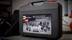 The Powerbuilt 23 Piece Ball Joint U-Joint Tool Kit