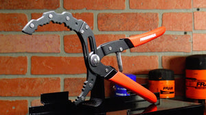 The Powerbuilt Self-Adjusting Oil Filter Pliers