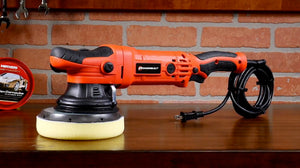 The Powerbuilt 6 in. Dual Action Orbital Long Throw Polisher